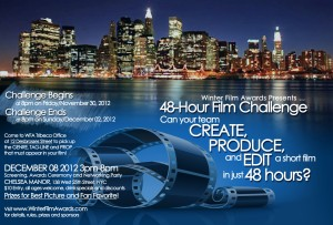 48 Hour Challenge Flyer back