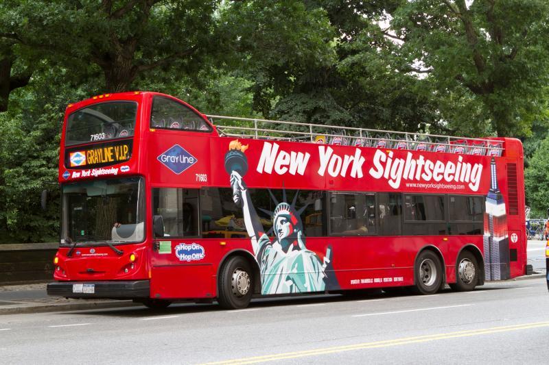 Grayline NY Sightseeing Bus