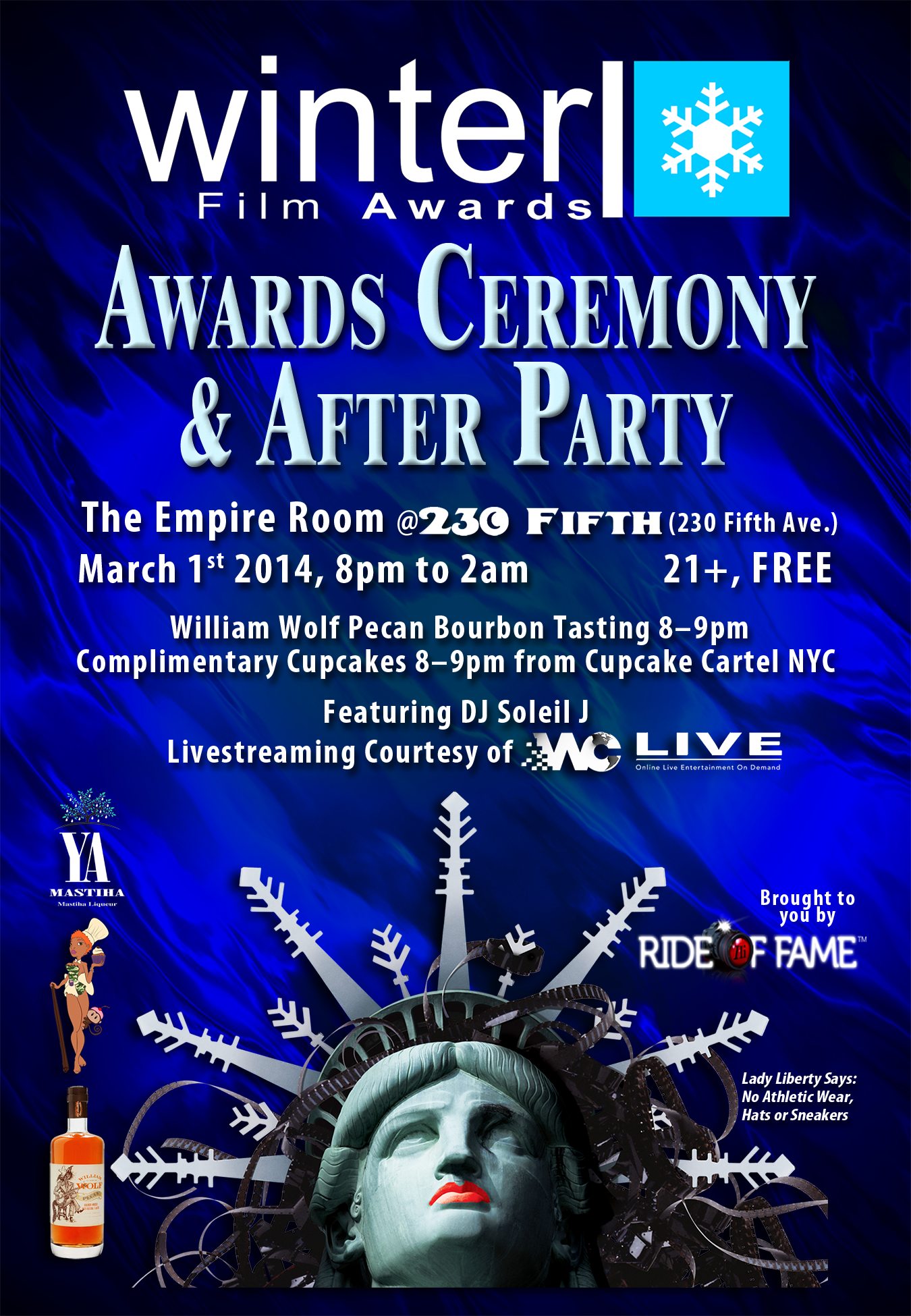 2014 Festival Awards Show Flyer