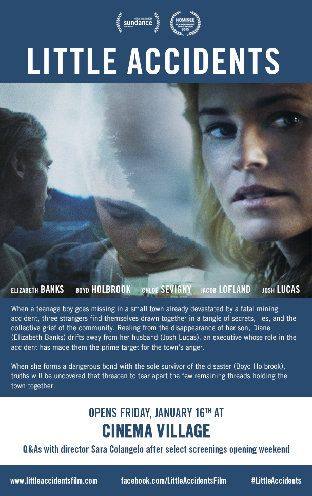 Little Accidents (2014) [English] SL DM - Elizabeth Banks, Boyd Holbrook, Chloe Sevigny and Josh Lucas