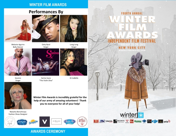 2015 WFA Festival Awards Program OUTSIDE PAGE