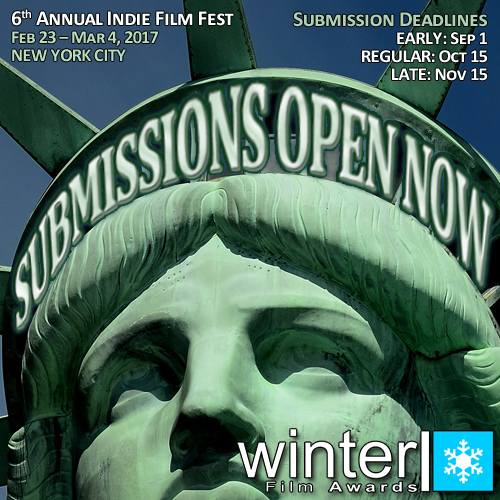 Submissions Open Now